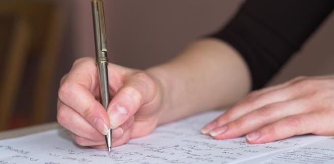 Pisanie egzaminu