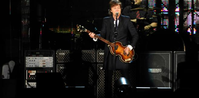 Koncert Paula McCartney'a na Stadionie Narodowym w Warszawie