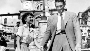 Rzymskie wakacje Audrey Hepburn, Gregory Peck