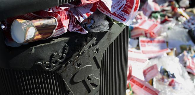 Śmieci w Madrycie