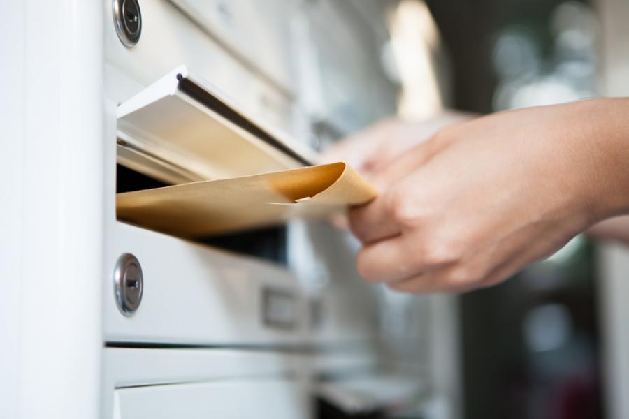 list, poczta, listy