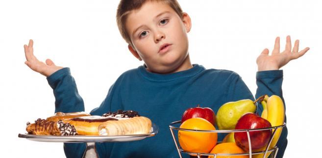 dziecko jedzenie wybór