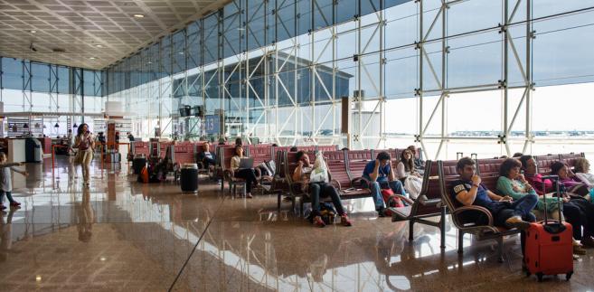 Lotnisko Barcelona El Prat Airport, Barcelona, Hiszpania