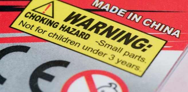 zabawki ostrzeżenie