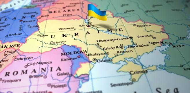Ukraina mapa