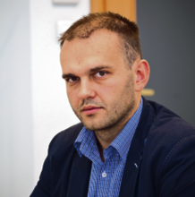 Michał Gajda przewodniczący Krajowej Reprezentacji Doktorantów