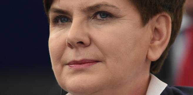 Premier Beata Szydło podczas debaty o sytuacji w Polsce