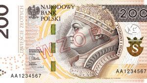 banknot 200zł