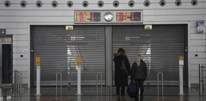 Strajk powszechny w Grecji