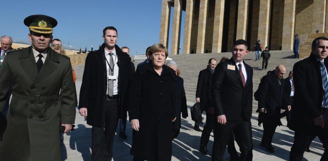 Merkel z wizytą w Turcji