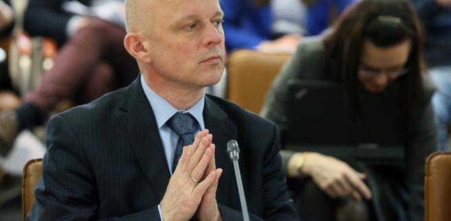 Minister Szałamacha podczas posiedzenia Rady Dialogu Społecznego