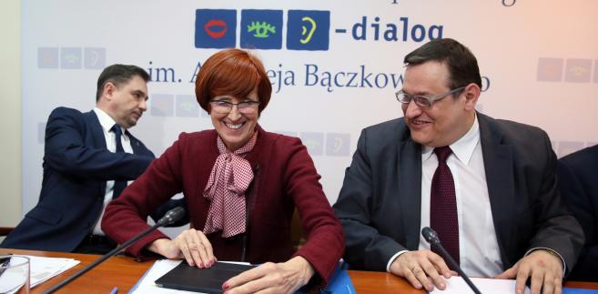 Piotr Duda, Elżbieta Rafalska, Jacek Męcina