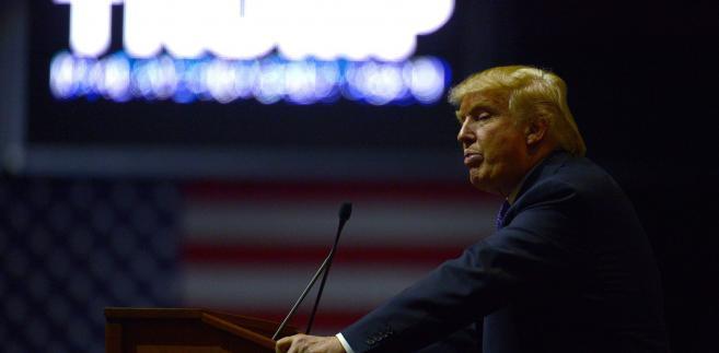 Kandydowanie Trumpa jeszcze latem traktowano jak kaprys bogacza
