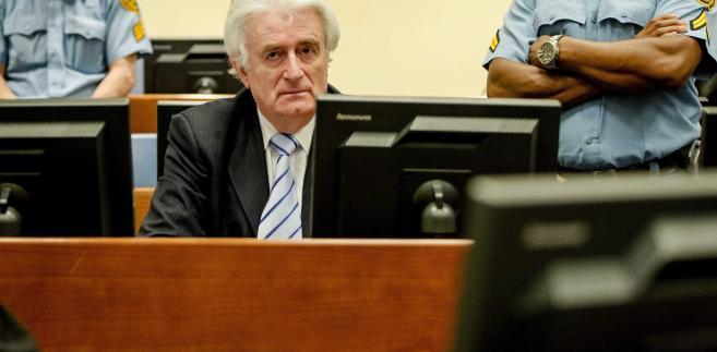 Karadżić został skazany na 40 lat za zbrodnie z czasów wojny bośniackiej.