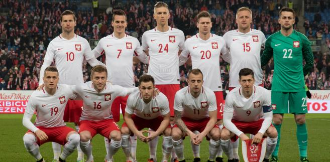Reprezentacja Polski przed meczem z Serbią 23 marca 2016