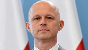 Minister finanasów Paweł Szałamacha podczas konferencji prasowej po posiedzeniu rządu.