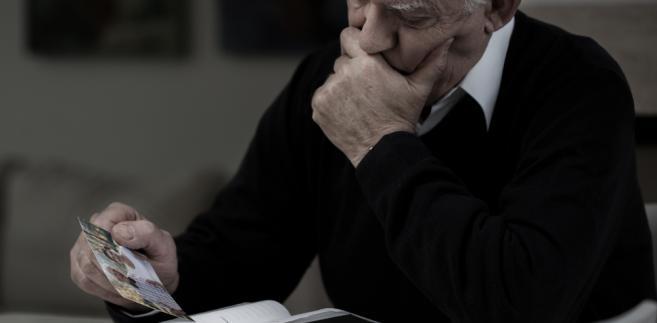 emeryt, pogrzeb, śmierć, zaginiony