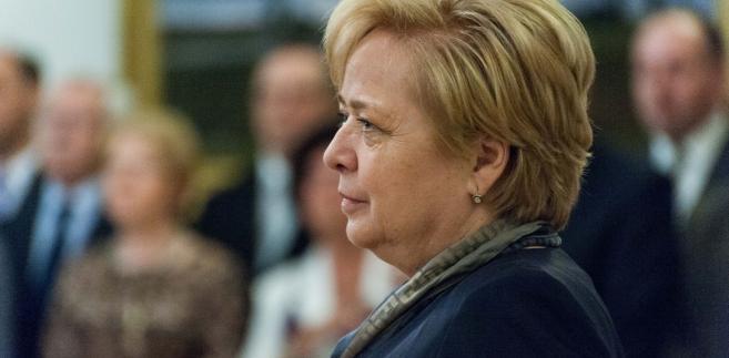 """W uchwałach - oddzielnych dla sędziów apelacji i sędziów okręgów - wskazano, że sposób pełnienia urzędu przez I prezes SN Małgorzatę Gersdorf """"zasługuje na szacunek, uznanie i wsparcie całego środowiska sędziowskiego""""."""