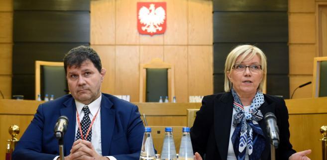 Trybunał uznał w czwartek przepisy nowelizacji Prawa o zgromadzeniach, zaskarżone przed ich podpisaniem przez prezydenta Andrzeja Dudę, za zgodne z konstytucją.