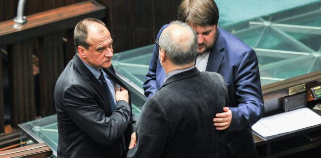 Paweł Kukiz i Piotr Apel w Sejmie
