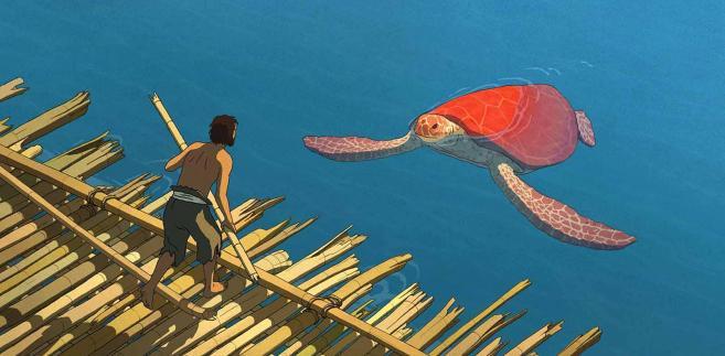 Czerwony żółw, film