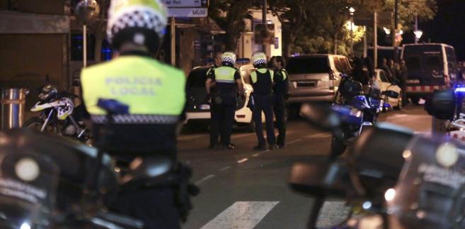 Policja w Cambrils