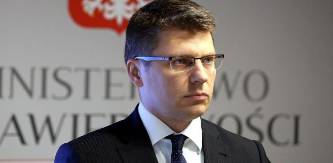 Doktor Marcin Warchoł, wiceminister sprawiedliwości