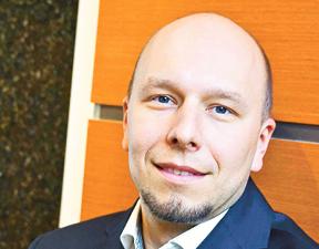 Michał Gołda prokurator w dziale ds. cyberprzestępczości Prokuratury Okręgowej w Warszawie