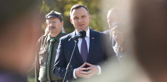 Prezydent Andrzej Duda jest osamotniony w swojej konstytucyjnej kampanii