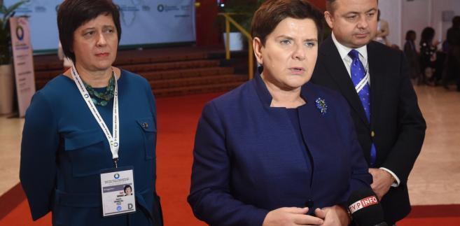 Beata Szydło zapowiada odpowiedź na list Antonio Tajaniego