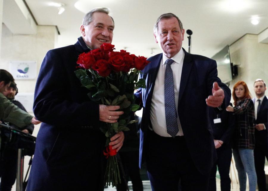 Henryk Kowalczyk i Jan Szyszko