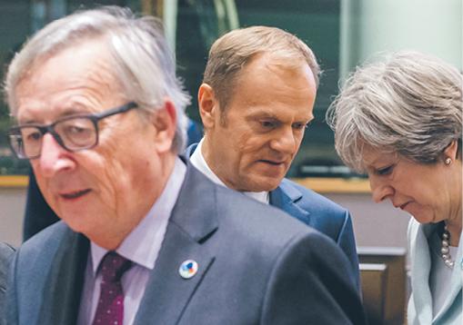 Donald Tusk głośno wyraża nadzieję, że Londyn zostanie w UE