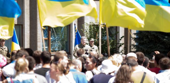 Prezydentowi Ukrainy nie podoba się ustawa o IPN, ale nie będzie szedł ramię w ramię z Izraelem. Między Kijowem a Jerozolimą jest konflikt o czyny banderowców podczas II wojny światowej