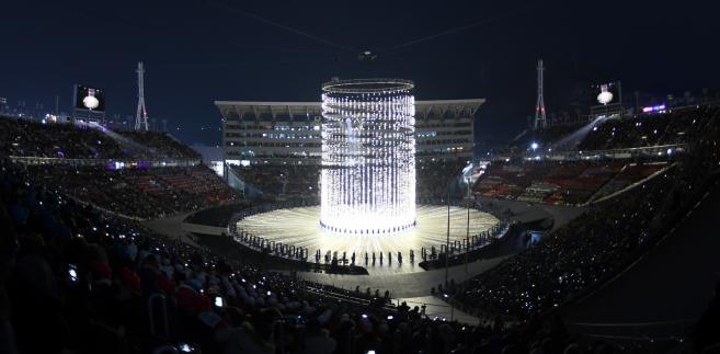 Podczas ceremonii otwarcia igrzysk sportowcy obu Korei maszerowali pod wspólną flagą.