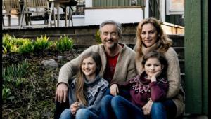 Joachim Petterson z rodziną, fot. Roland Perrson