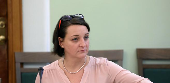 Wiceminister kultury Magdalena Gawin