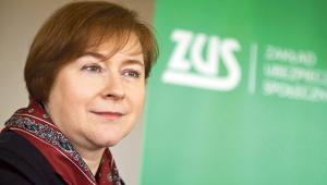 Dorota Bieniasz, członek rady nadzorczej ZUS nadzorujący pion świadczeń i orzecznictwa