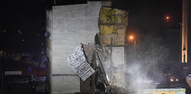 Zawalona kamienica w Poznaniu