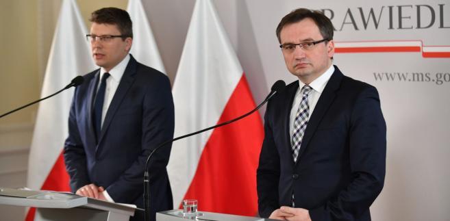 Marcin Warchoł i Zbigniew Ziobro