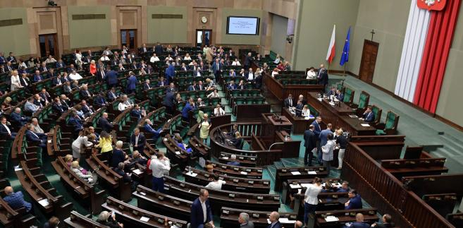 Wczoraj odbyło się pierwsze i drugie czytanie noweli ustawy o SN