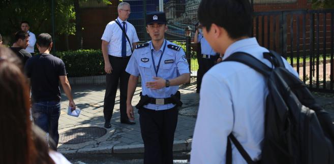Incydent przed ambasadą amerykańską w Pekinie