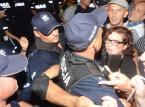 Trwa przesłuchanie mężczyzny, który zaatakował policjanta przed Pałacem Prezydenckim