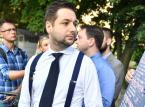"""Warszawa: Patryk Jaki rozpoczął akcję """"100imy pod blokiem""""; na początek – Bielany"""