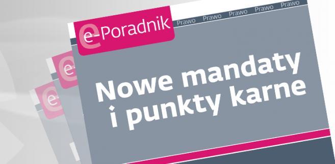e-book: Nowe mandaty i punkty karne