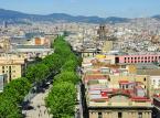 La Rambla – najsłynniejsza aleja Barcelony łącząca Plaça de Catalunya z portem. Jest to szeroka, obsadzona drzewami promenada z wieloma barami i restauracjami na wolnym powietrzu.