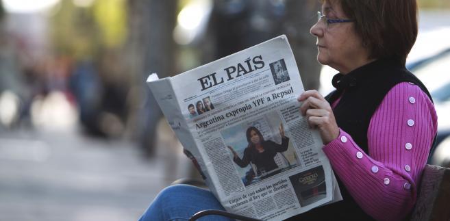 """Hiszpański dziennik poranny """"El Pais"""", założony w 1976 roku po śmierci Francisco Franco jako organ sił prodemokratycznych, przedstawił we wtorek plan zmniejszenia zatrudnienia o jedną trzecią."""