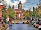 Amsterdam - stolica Holandii została wyróżniona za swój niepowtarzalny charakter.