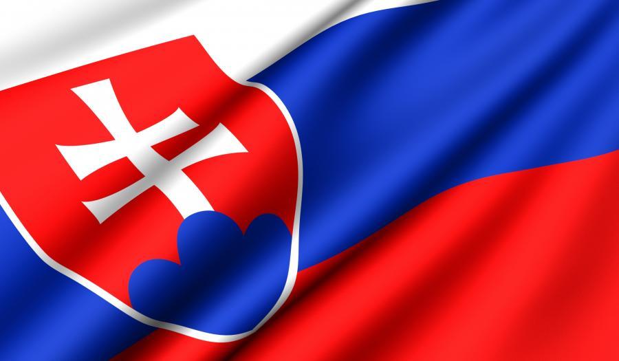 Flaga Słowacji