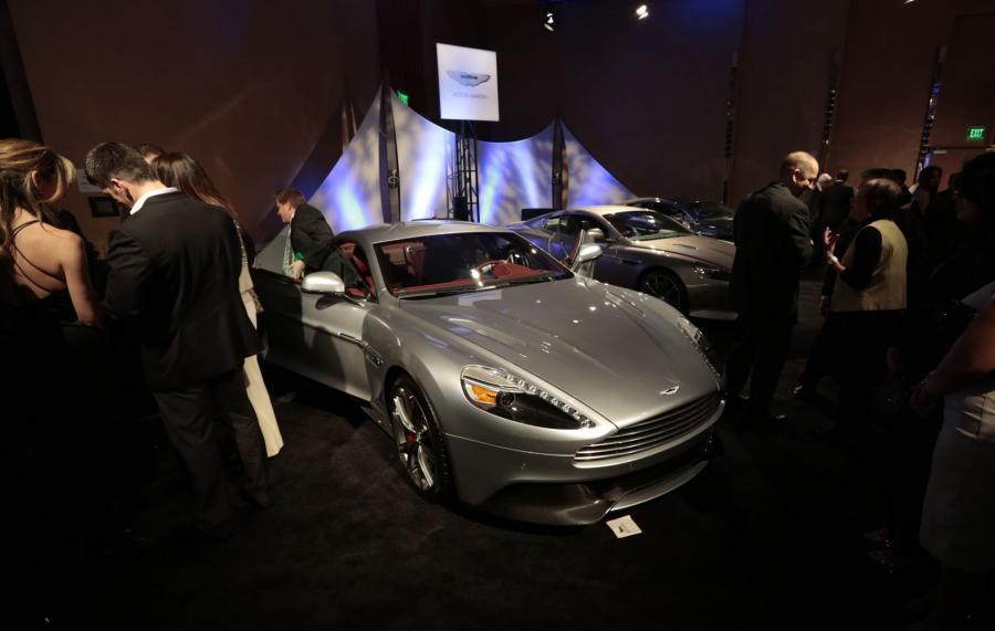 North American International Auto Show 2013: Aston Martin Vanquish
