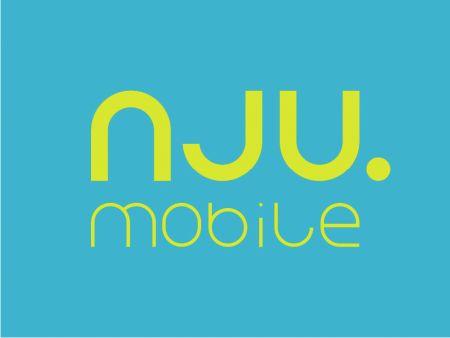 Logo nowej taniej marki nju. mobile